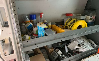 What's inside an Electrician's Van?